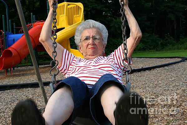 Susan Stevenson - Swinging Grandmother 11