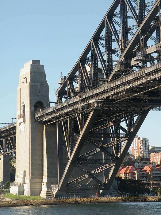 Sydney Harbour Bridge By Sandra Sengstock Miller