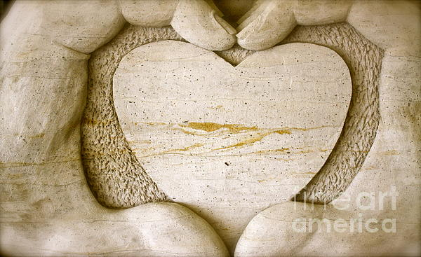 Symbol Of Love Print by Ted Wheaton