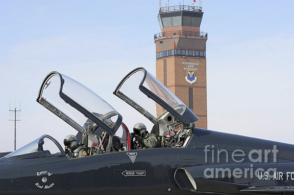 T-38 Talon Pilots Make Their Final Print by Stocktrek Images