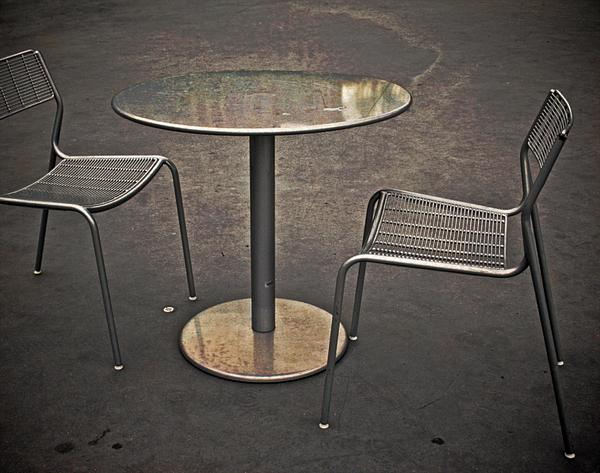 Table For None Print by Odd Jeppesen