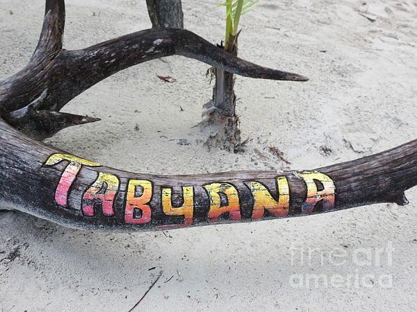 Tabyana Beach Print by Vijay Sharon Govender