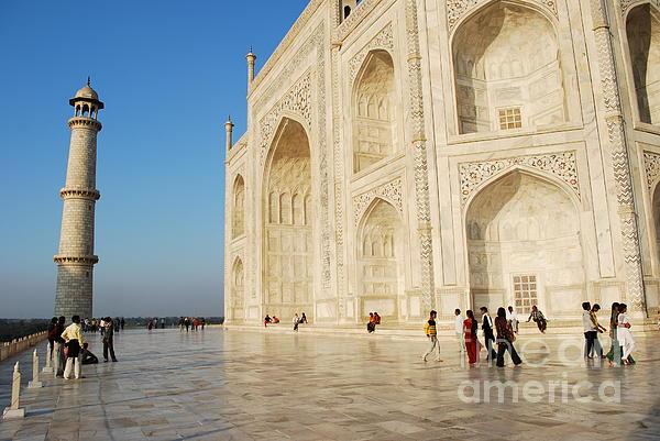 Taj Mahal Print by Jen Bodendorfer