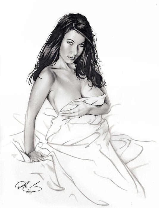Take On Me Print by Pete Tapang