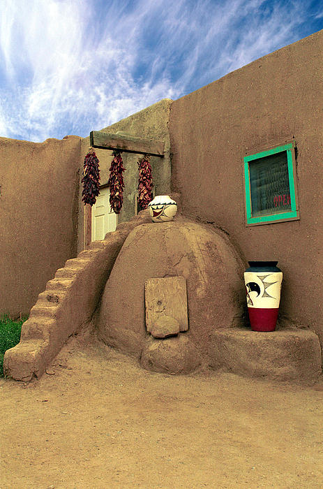 Taos Oven Print by Jerry McElroy
