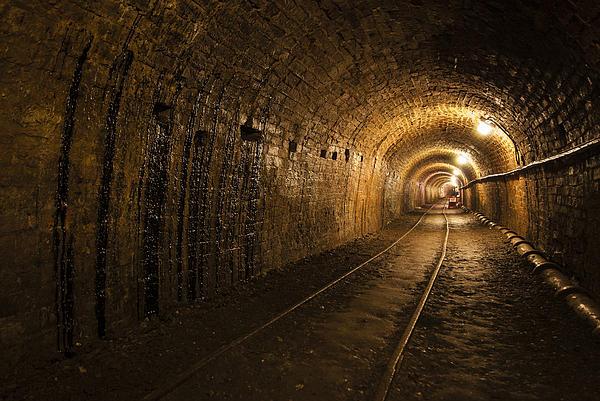 Tar Tunnel Print by John Hallett