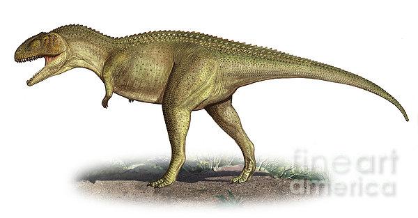 Tarascosaurus Salluvicus, A Prehistoric Print by Sergey Krasovskiy
