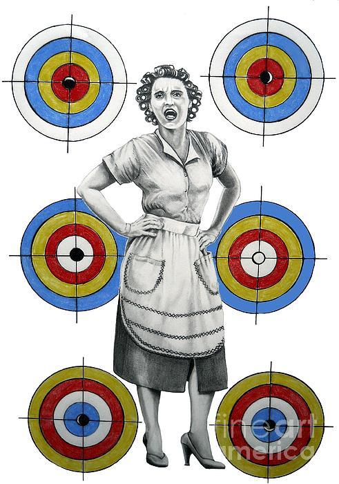 Target In Law Print by Murphy Elliott
