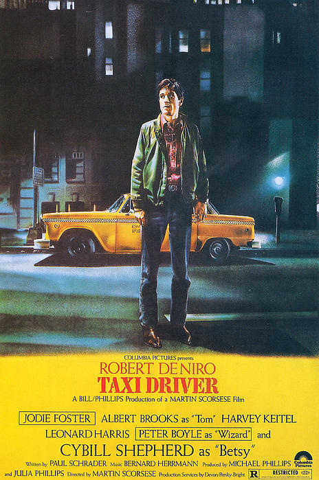 Taxi Driver - Robert De Niro Print by Nomad Art and  Design