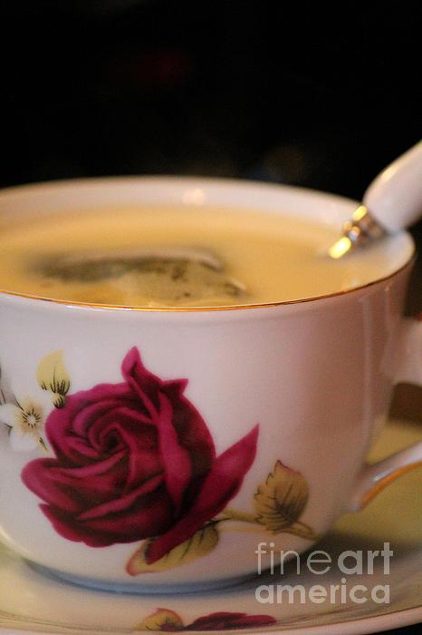 The Art Of Marilyn Ridoutt-Greene - Tea Elegance