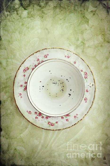 Tea Leaves Print by Stephanie Frey