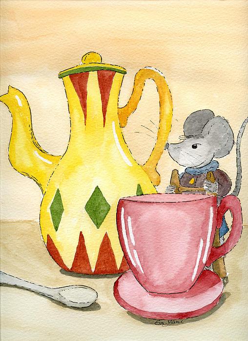 Tea Time Print by Eva Ason