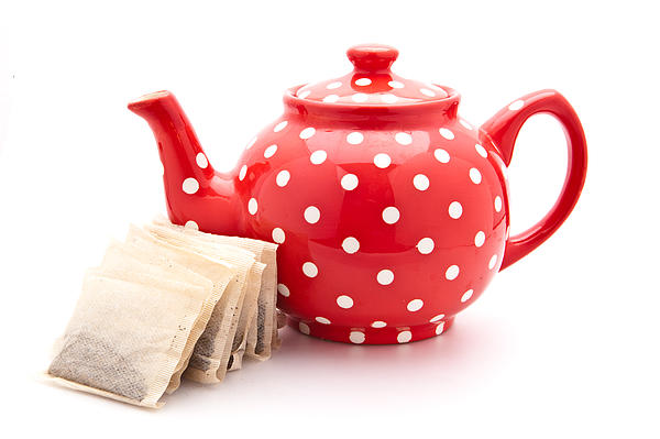 Teapot Print by Tom Gowanlock
