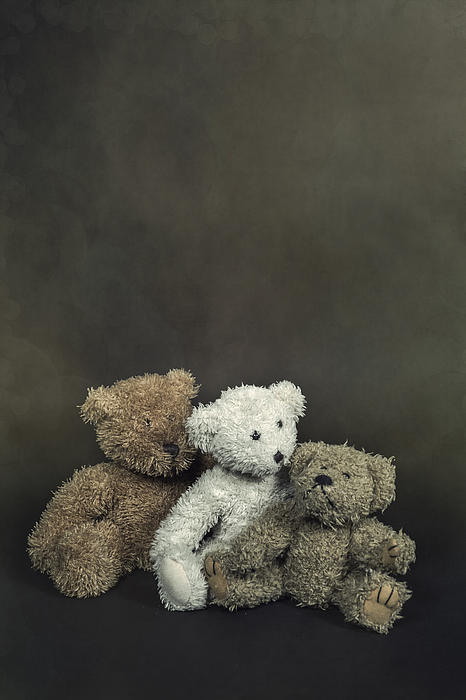 Teddy Bear Family Print by Joana Kruse