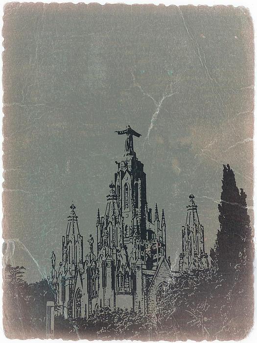 Temple Expiatory Print by Naxart Studio