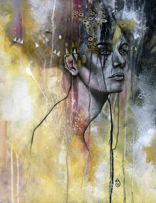 Temporal Print by Patricia Ariel