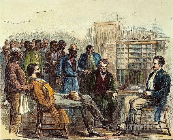 Tenn: Freedmens Bureau Print by Granger