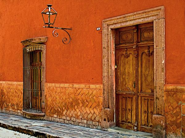 Terracotta Wall 2 By Olden Mexico