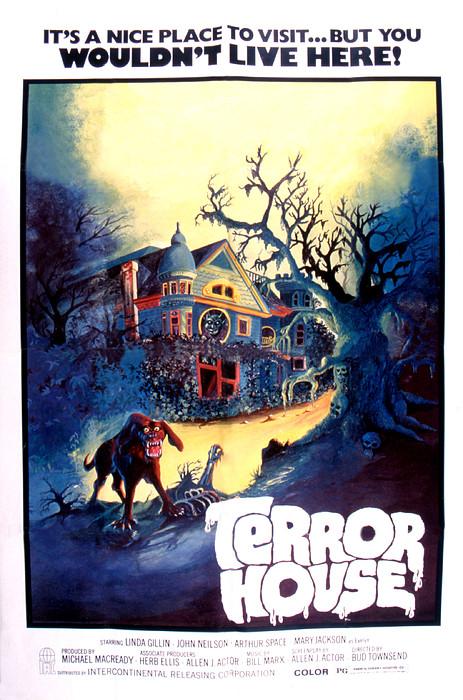Terror House Aka Club Dead Terror At Print by Everett