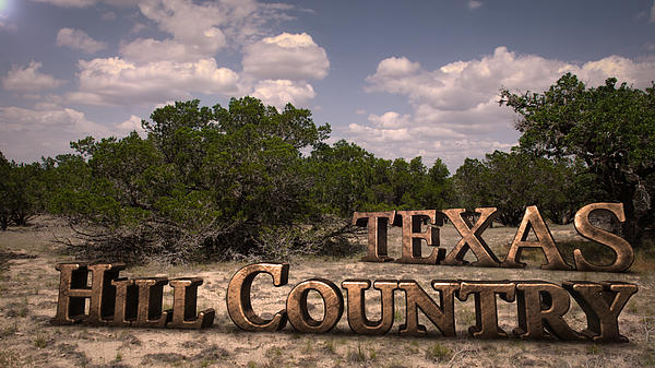 Texas Hill Country Print by Kelly Rader