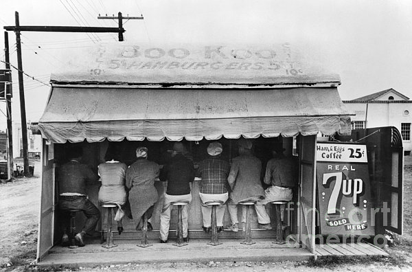 Texas: Luncheonette, 1939 Print by Granger