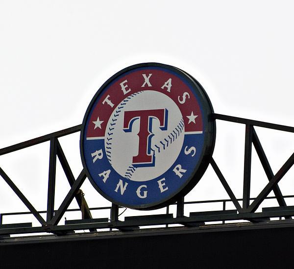 Texas Rangers Print by Malania Hammer