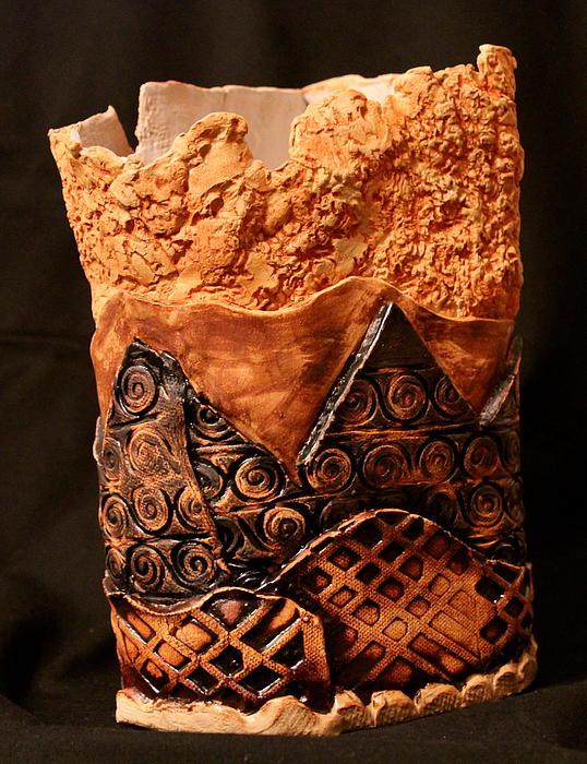 Textures Print by Ghazel Rashid