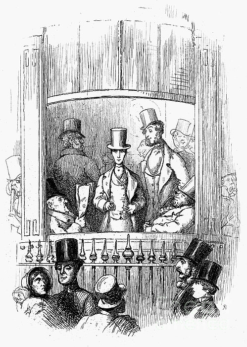 Thackeray: Newcomes, 1855 Print by Granger