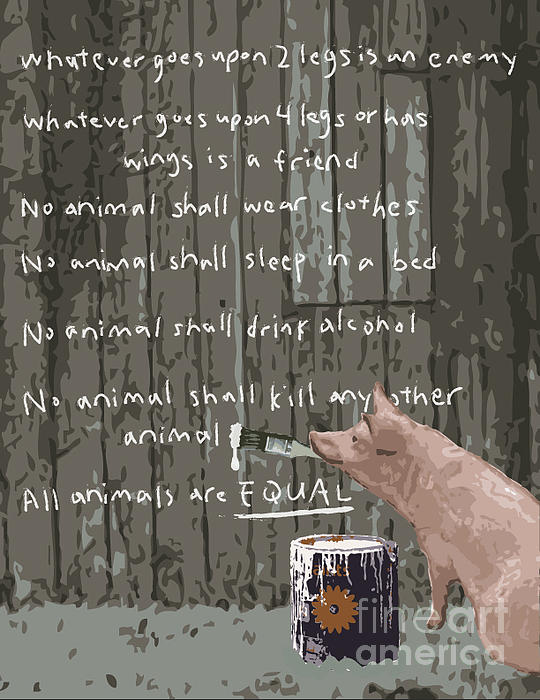 Plot Summary of Animal Farm by George Orwell