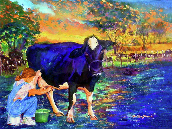 The Agronomist Print by Estela Robles