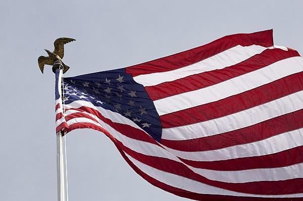 The American Flag Print by Tim Laman