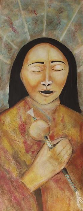 The Ancestors Are Singing Print by Gemma Benton Jackson