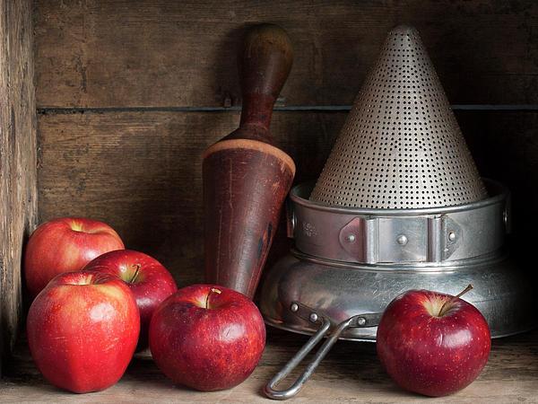 The Applesauce Maker Print by John Burnett