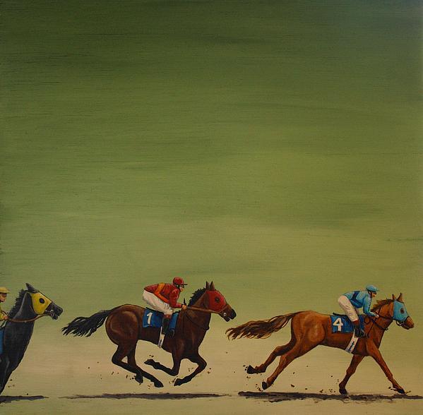 The Art Of Racing Print by Jennifer Lynch