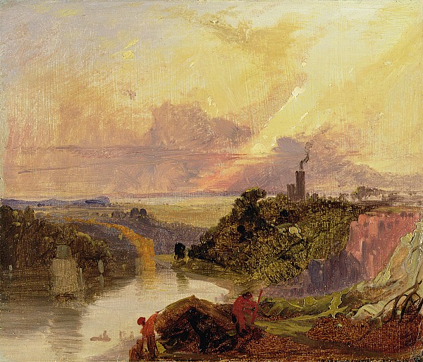 The Avon Gorge At Sunset  Print by Francis Danby