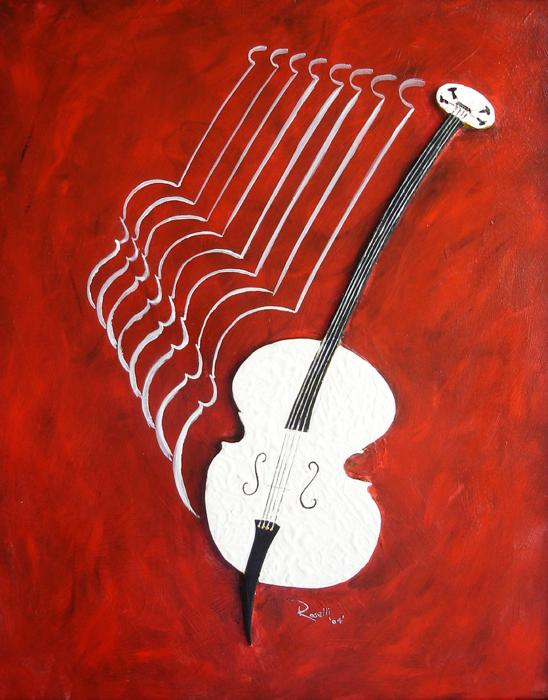 The Bass Print by Richard Roselli
