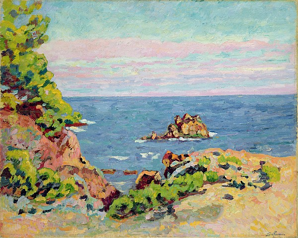 The Baumettes Print by Jean Baptiste Armand Guillaumin