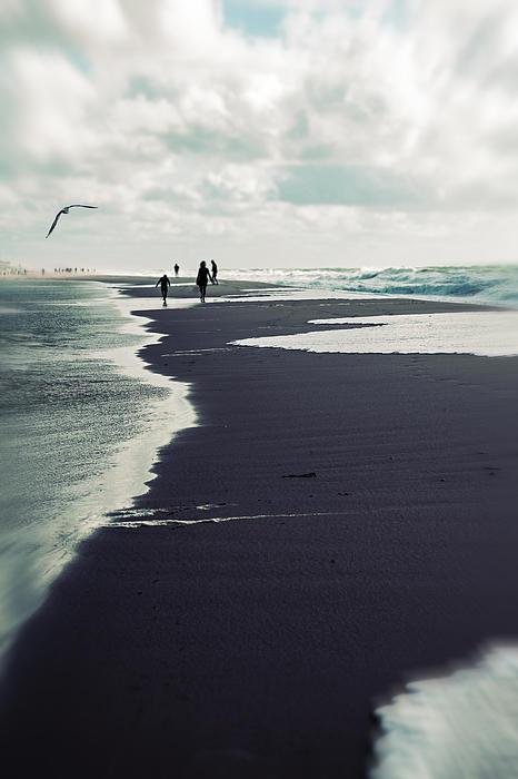 The Beach Print by Joana Kruse
