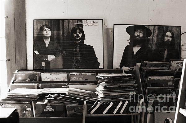 The Beatles Yesterday Print by Anna Payne