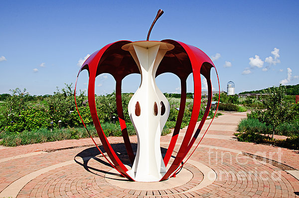 The Big Apple At Powell Gardens Photograph
