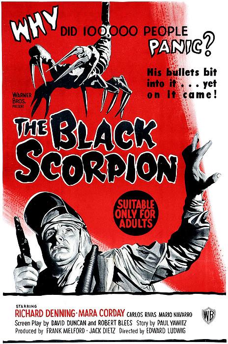 The Black Scorpion, Bottom Richard Print by Everett