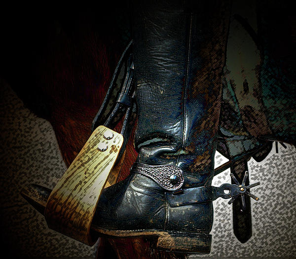 The Boot Print by Steven  Digman