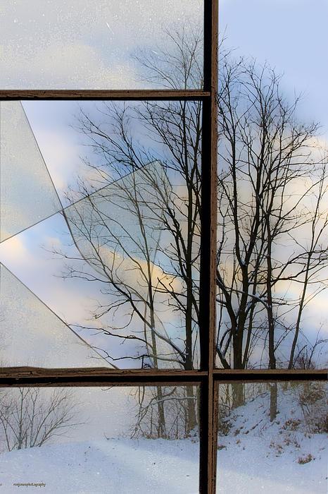 The Broken Window Print by Ron Jones