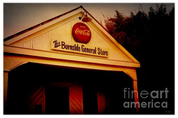 The Burnside General Store Print by Scott Pellegrin