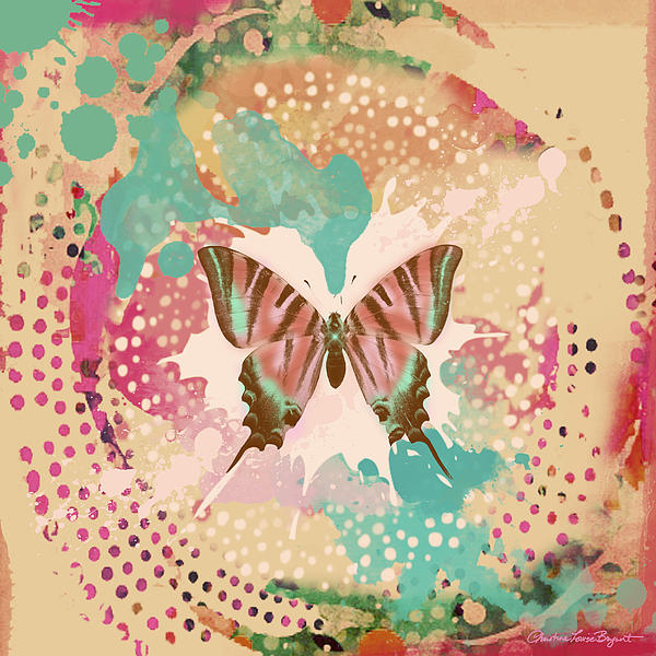 The Butterfly Experiment Print by Christine Louise Bryant