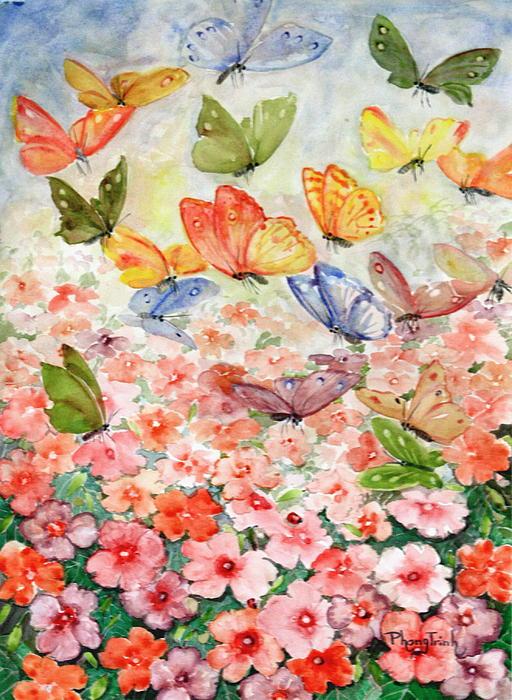 Phong Trinh - The Butterfly Garden