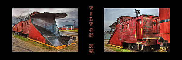 The Caboose Print by Joann Vitali