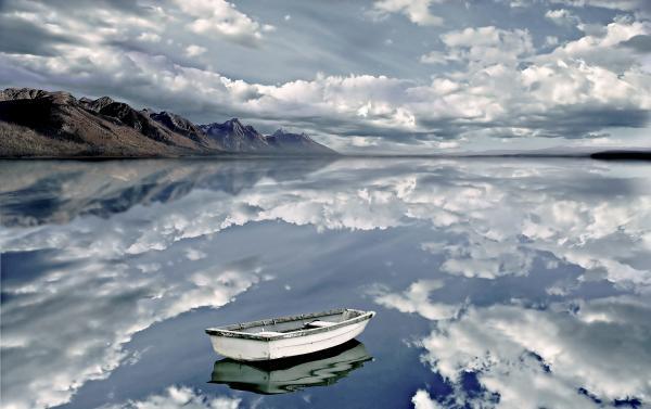 The Calm Print by Photodream Art