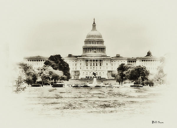 The Capital Bulding Print by Bill Cannon