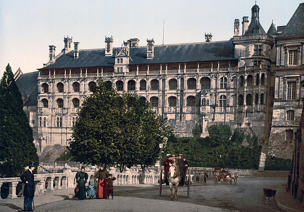 The Castle In Blois - France Print by International  Images